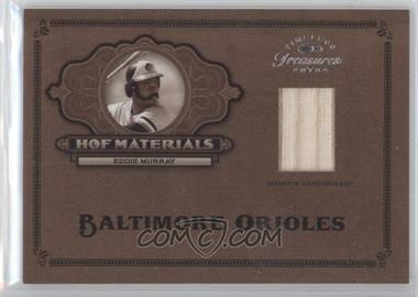 2004 Timeless Treasures HOF Materials Bat #10 - Eddie Murray/25 - Courtesy of CheckOutMyCards.com