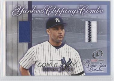 2001 Fleer Legacy Derek Jeter Collection #NNO - D.Jeter Leg Minors JSY - Courtesy of CheckOutMyCards.com