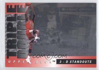 1993-94 Upper Deck Triple Double #TD2 - Michael Jordan - Courtesy of CheckOutMyCards.com