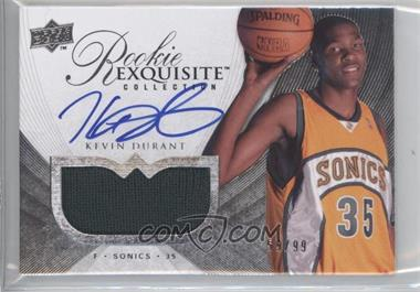2007-08 Exquisite Collection #94 - Kevin Durant JSY AU/99 RC (Rookie Card) - Courtesy of CheckOutMyCards.com