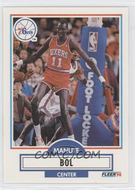 1990-91 Fleer Update #U69 - Manute Bol - Courtesy of CheckOutMyCards.com