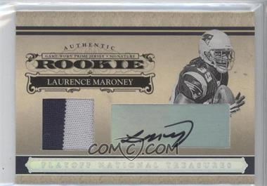 2006 Playoff National Treasures Rookie Signature Material Silver #108 - Laurence Maroney/49 - Courtesy of CheckOutMyCards.com
