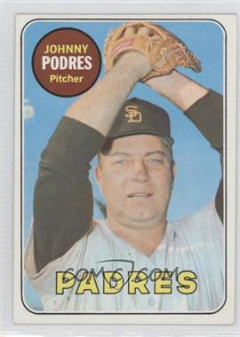 1969 Topps #659 - Johnny Podres - Courtesy of CheckOutMyCards.com