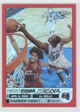 2005-06 Topps Big Game 99 #81 - Dwight Howard/99 - Courtesy of CheckOutMyCards.com