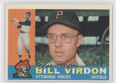 1960 Topps #496 - Bill Virdon - Courtesy of CheckOutMyCards.com