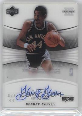2005-06 Upper Deck Trilogy Auto Focus #GG - George Gervin - Courtesy of CheckOutMyCards.com