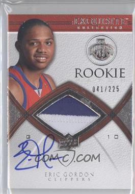 2008-09 Exquisite Collection #94 - Eric Gordon JSY AU RC (Rookie Card)/225 - Courtesy of CheckOutMyCards.com