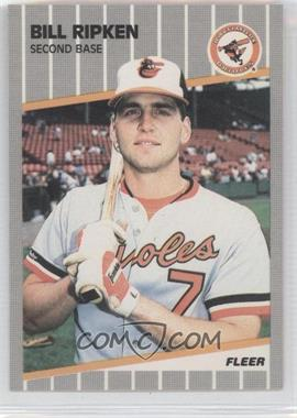 1989 Fleer #616E - Bill Ripken Black Box - Courtesy of CheckOutMyCards.com