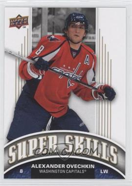 2008-09 Upper Deck Super Skills #SS3 - Alexander Ovechkin - Courtesy of CheckOutMyCards.com
