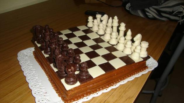 Chocolate Chess Cake For My Birthday Chess Com