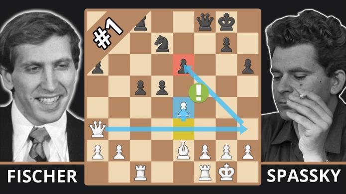 Bobby Fischer Breaks Boris Spassky's Ego - Best Of The 70s - Fischer vs.  Spassky, 1972 G6 - Chess.com