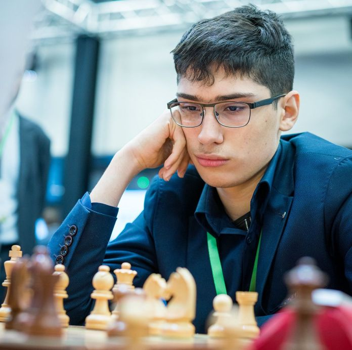 Alireza Firouzja World Rapid 2019 Foto: Lennart Ootes / FIDE.