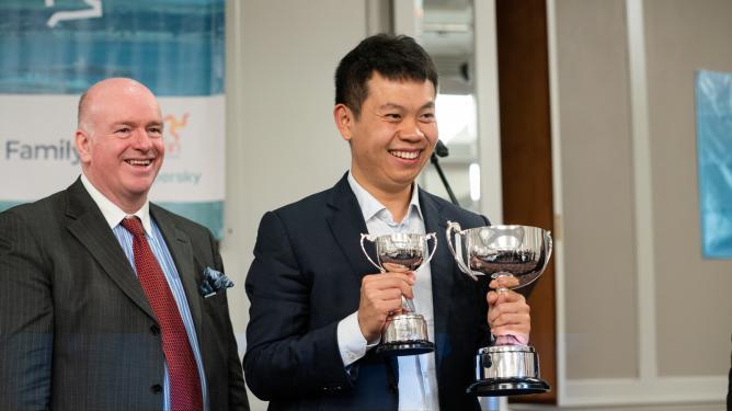 Fituesi i Ishullit të Njeriut 2019 Wang Hao