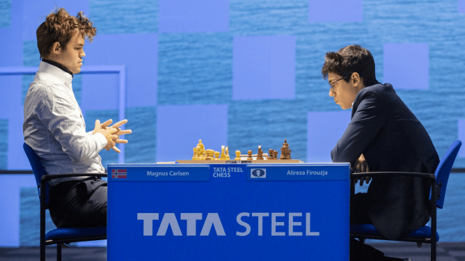 Carlsen Firouzja Wijk dhe Zee 2021