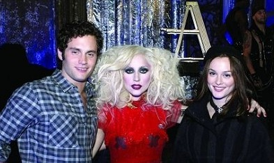 Image result for lady gaga, gossip girl