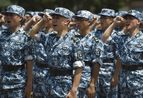 Opening ceremony of HK Youth Military Summer Camp - China ...