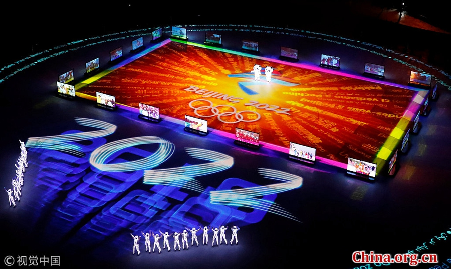 Image result for beijing presentation closing ceremonies pyeongchang