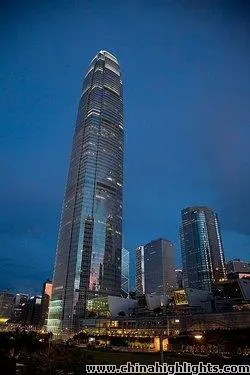 Hong Kong IFC Towers, the Second Tallest Building in Hong Kong