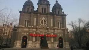 Christmas at Wangfujing Church