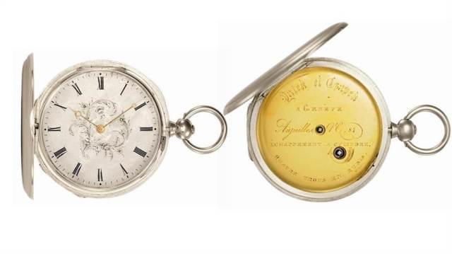 百達先生(Antoine Norbert de Patek )在1842年收到30歲的生日禮物P1懷表。(Patek Philippe提供)