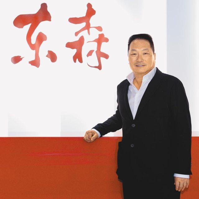 東森購物董事長王令麟指出豐富網站的商品品牌和品項是非常重要的工作。