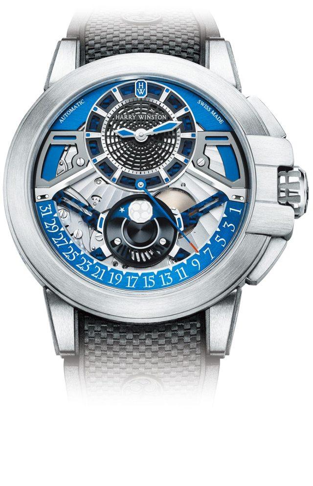 海瑞溫斯頓Project Z13 腕表,約83萬元。(Harry Winston提供)