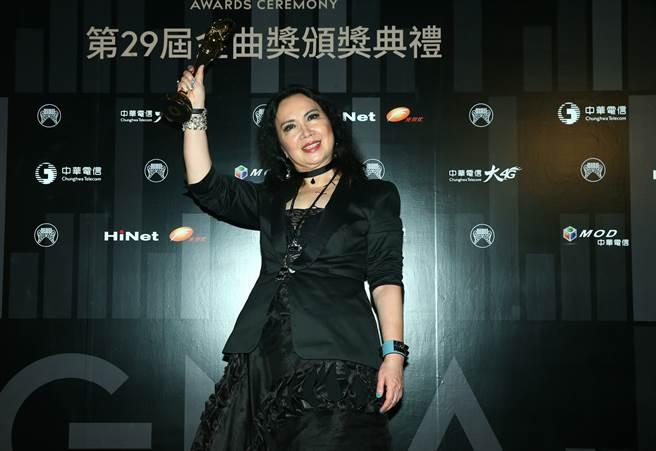 苏睿在中国音乐界很有影响力,并获得了第29届金曲奖的特别贡献奖。  (平均时间数据图像/照片)