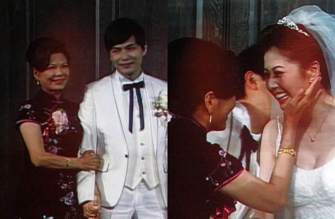 孫協志媽媽9年前出席兒子婚禮。(圖/羅永銘翻攝)