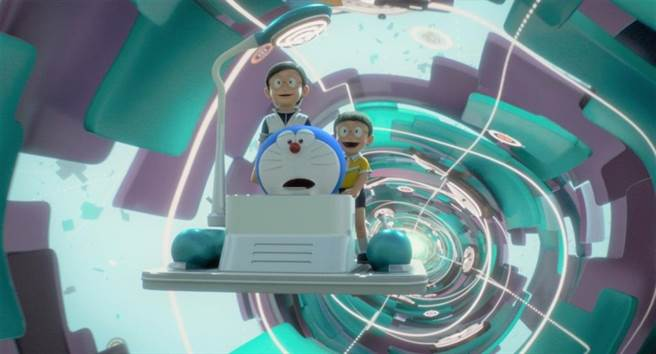 《STAND BY ME 哆啦A夢2》上映7天寫下全台破2100萬的票房佳績。(車庫提供)