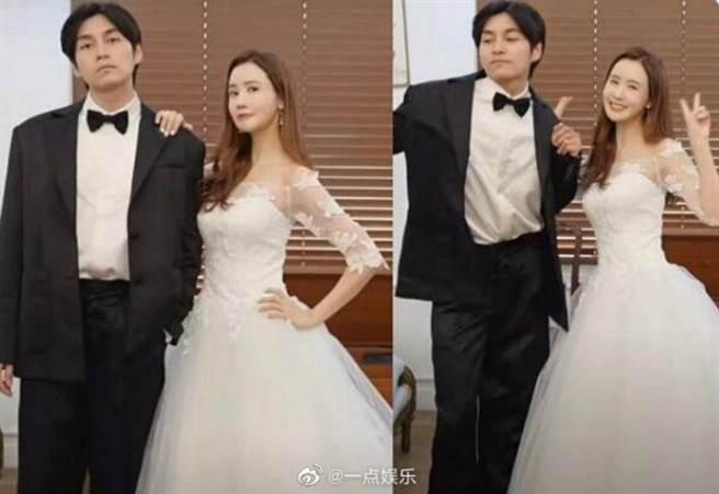 日前網瘋傳李多海和一名男子試婚紗影片,爆出結婚消息,但對方並非交往多年男友SE7EN,引起熱議。(圖/ 摘自微博)