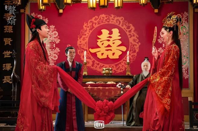 郭麒麟、宋軼再度合作,從姊弟變夫妻。(愛奇藝國際站提供)