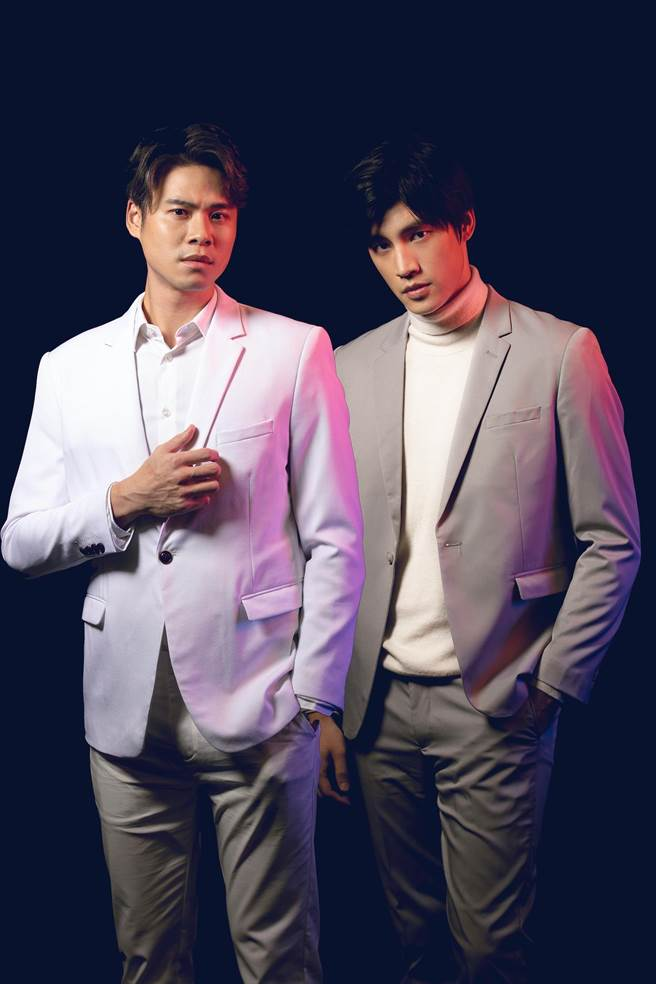 吳定謙、羅宏正在舞台劇中是黃嘉千的前後任伴侶。(故事工廠提供)