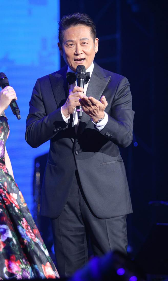 徐乃麟今晚為演唱會串場主持。(吳松翰攝)