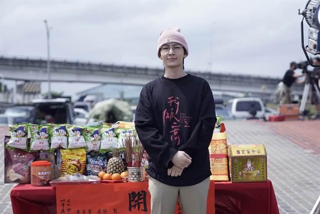 炎亞綸參與新戲《我願意》開鏡儀式。(絡思本娛樂製作公司提供)