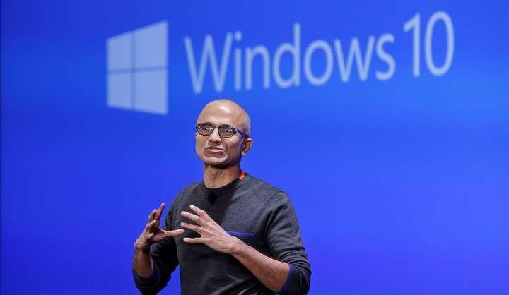 Microsoft CEO Satya Nadella.  Photo: AP