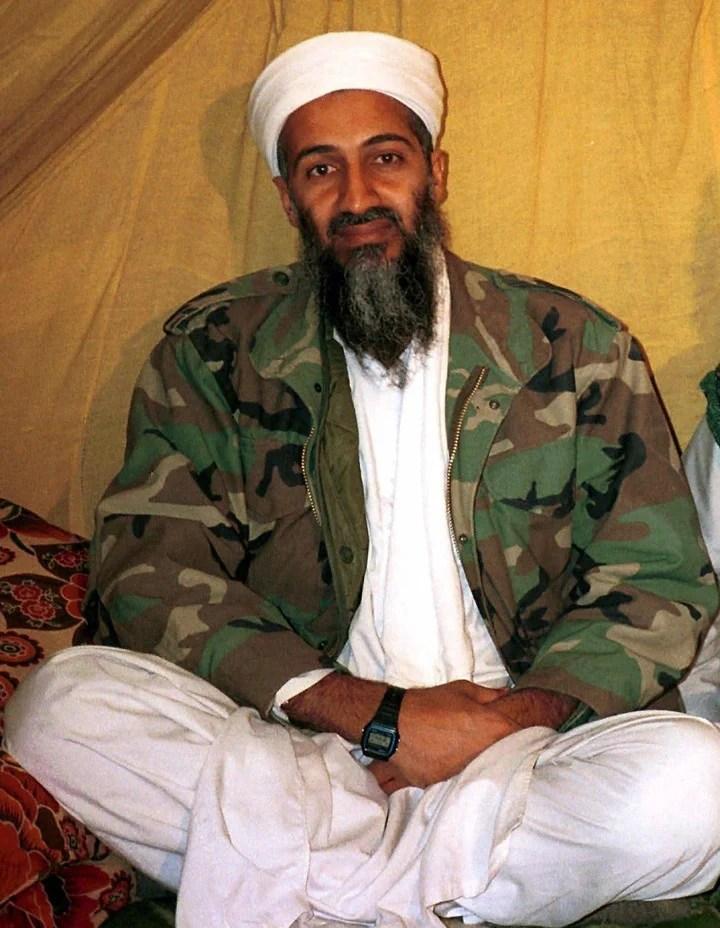 Osama Bin Laden died in 2011. AP Photo