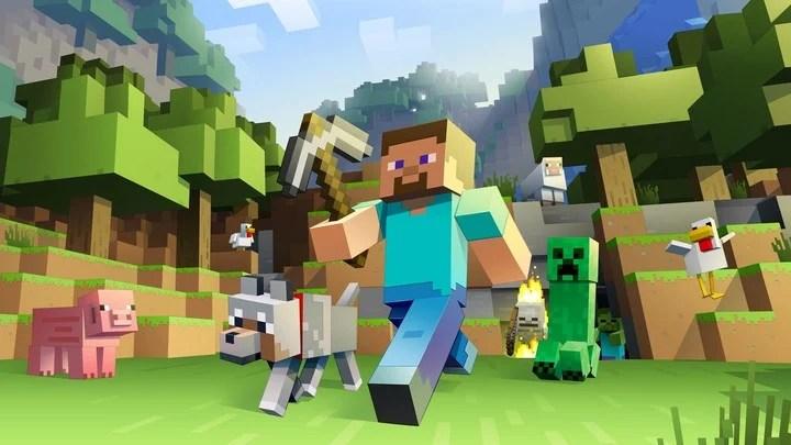Un clásico. En Minecraft los jugadores se desplazan libremente y modifican el entorno.