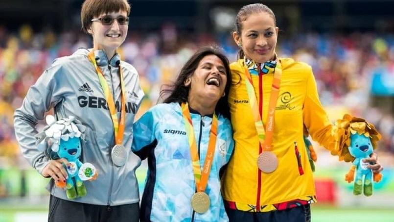Juegos Paralímpicos: Yanina Martínez le da a la Argentina una medalla de bronce