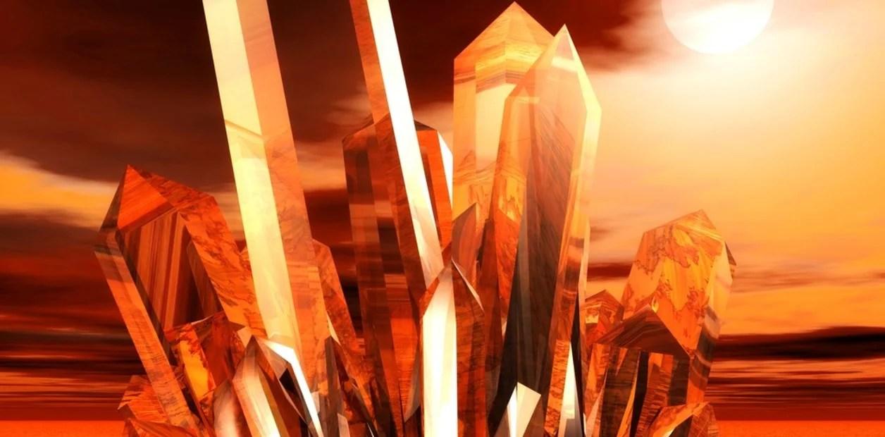 Resultado de imagen para cristales de cuarzo