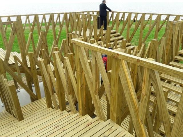 Un legado de arquitectura y madera para Vicente López