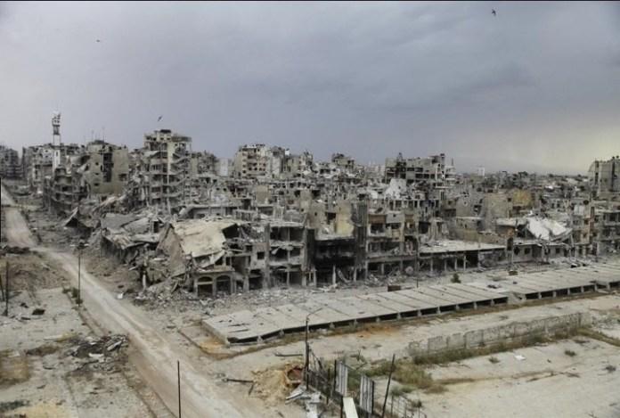 Las ruinas de Alepo, la ciudad siria a la que Mohamed Atta le dedicó su tesis sobre urbanismo antes de unirse a Al Qaeda.