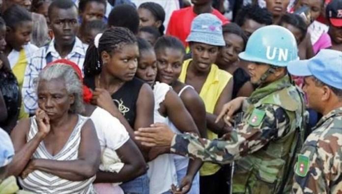 Haití: diez mujeres que tuvieron hijos de cascos azules denuncian a la ONU