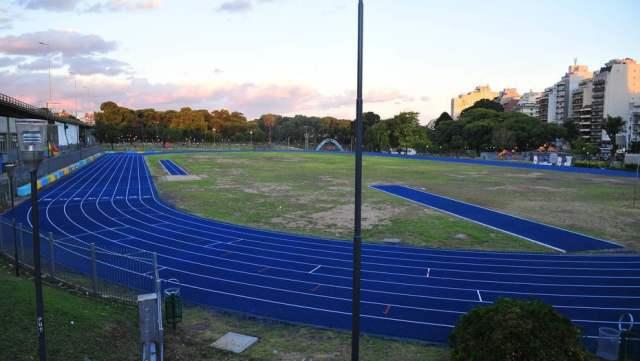 Parque Chacabuco: una pista profesional para los amantes del running