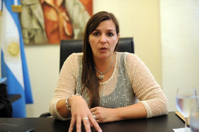 La ex intendenta K, Angelina Lesieux, condenada a 8 años de prisión por corrupción. Foto Emmanuel Fernandez/Archivo.
