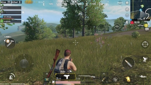 PlayerUnknown's Battlegrounds, en versión mobile.