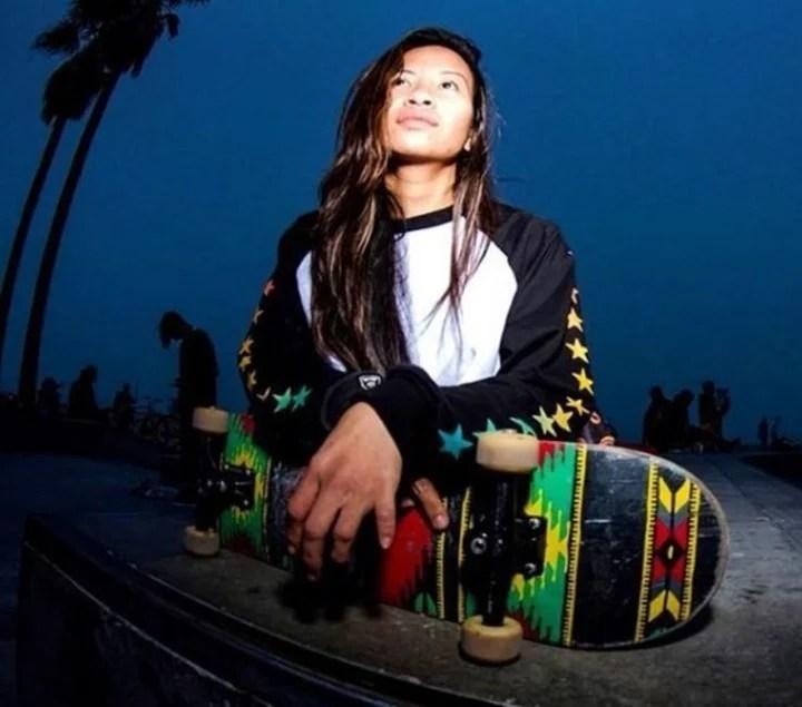 Kanya desarrolló su pasión por los deportes extremos y el surf. (Foto: Instagram).