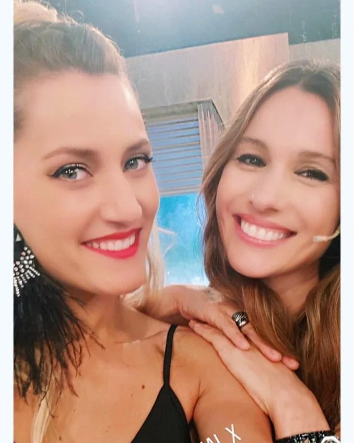 Micaela Viciconte y Pampita Ardohain. (Instagram)