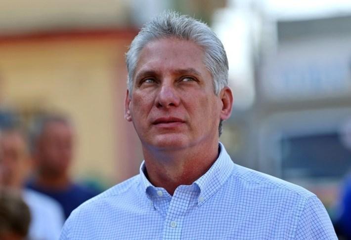 Miguel Diaz-Canel, el sucesor. Foto: AFP