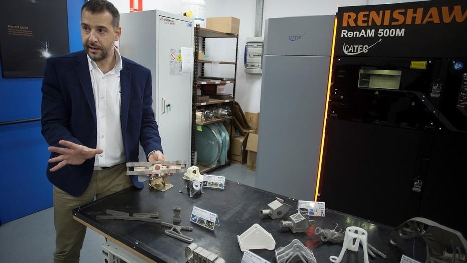 Fernando Lasagni, neuquino, desarrolla materiales para la Agencia Espacial Europea.
