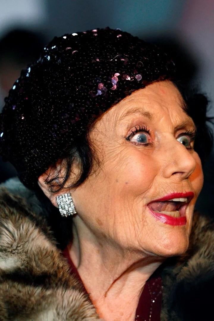 Foto de archivo tomada el 15 de enero de 2012. Actriz británica Eunice Gayson